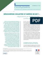 DARES Analyses Négo coll et greves 2013-059-2