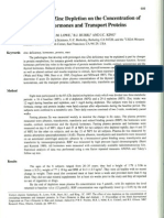 depleção de zinco e niveis de hormonios