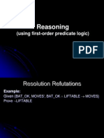 Reasoning Using First-Order Predicate Logic