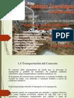 Transportacion Del Concreto
