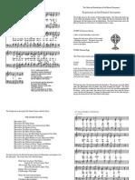 O Salutaris Hostia Music Sheet
