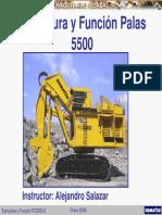 Curso Enrolla Cable Pala Hidraulica 5500 Komatsu