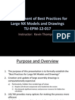 0105_Best Practices for Large NX Models and Drawings Training Slides-020513