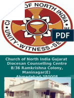 Church of North India Gujarat Diocesan Counselling Centre B/36 Ramkrishna