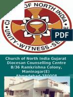 Church of North India Gujarat Diocesan Counselling Centre B/36 Ramkrishna