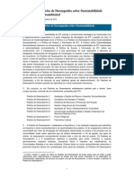 Performance Standards on Environmental and Social Sustainability (Portuguese) - 2012 Edition