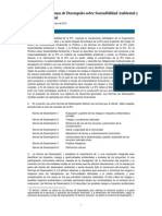 Performance Standards on Environmental and Social Sustainability (Spanish) - 2012 Edition