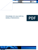Modelo Pedagogic Oaul a Virtual