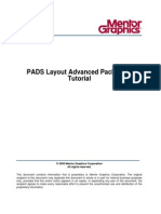 Pads layout mentor graphics