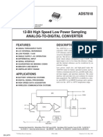 ADC Ads7818