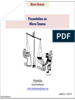 Presentation Microfinanceindustry Feb2014 Sushilchokhandre 140210053230 Phpapp02