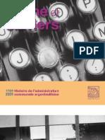 Brochure Plume et claviers