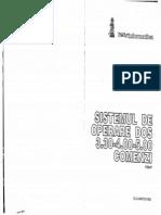 SISTemul de OPerare DOS 3.30-4.00-5.00 Comenzi Editia IV[RO][MicroInformatica - 1993]