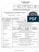 QC Checklist Sample