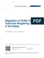 Regulation of Public Sector Collective Bargaining in the States