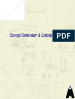 Concept Generation & Concept Selection