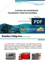 2- Situacion Actual de Los Residuos Peligroso y Raee en Colombia - Diego Escobar Ocampo