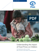 Understanding the Impact of Food Prices on Children