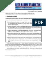 Berita Resmi BPS Sumut Bulan Januari 2014 tentang Nilai Ekspor dan Impor Sumut