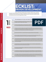 Checklist TDD