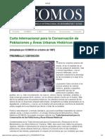 Intervencion Urbanas Historicas