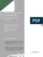 biopolítica y educación