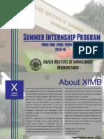Ximb Sip Brochure 2013-15 (1)
