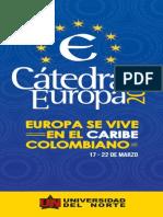 Revista Cátedra Europa 2014