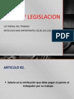 Etica y Legislacion