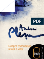 Despre Frumusetea Uitata a Vietii - Andrei Plesu-2