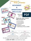 Movement & Mindfulness Flyer Mar-April 2014 English