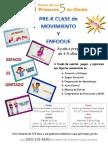 Movement & Mindfulness Flyer Mar-April 2014 Spanish