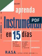 Aprenda Instrumental en 15 Dias - Christian Gellert