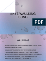 Skye Waulking Song 2