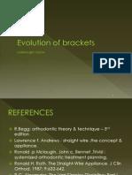 Brackets IN ORTHODONTICS
