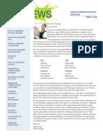2014 Spring NWS Newsletter