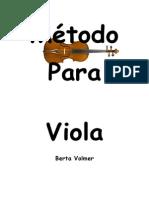 Capa Método Para Viola