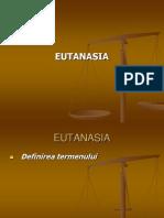 Curs Bioetica 4 Eutanasia