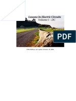 Lessons in Electric Circuits, Volume I DC