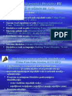 Najvazniji propisi i direktive Evropske Unije za - VODE