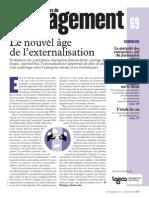 Le Nouvel Age de Lexternalisation