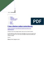 Cómo eliminar pulgas naturalmente - wikiHow