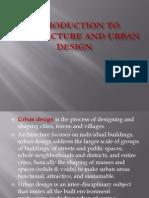 Urban Design- Unit I