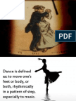 math and dance