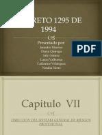 Decreto 1295
