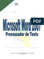 Nova Apostila Microsoft Word 2007