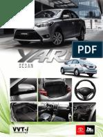 Ficha Tecnica Yaris 2014 2