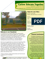Newsletter October 2009