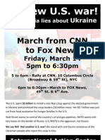 No new U.S. war! Ukraine half-sheet