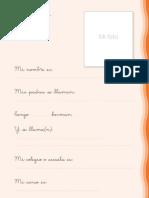 Cuaderno de Escritura PDF